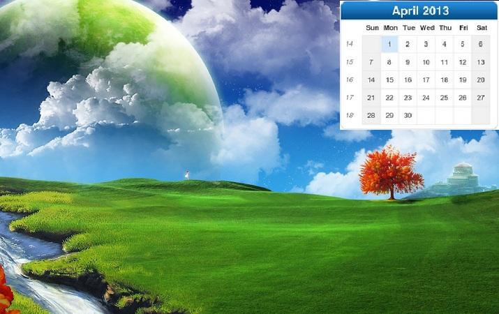 Nature S Calendar Wallpaper : Beautiful nature desktop calendar wallpapers rajesh